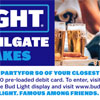Bud Light Ultimate Tailgate Sweepstakes Contest and Ads