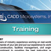 CADD Microsystems Training Flyer
